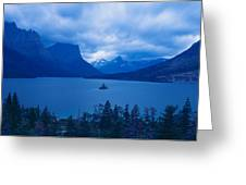 St. Mary Lake, Glacier National Park Greeting Card