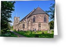 St Mary's Church - Tutbury Greeting Card