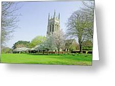 St Peter's Church - Stapenhill Greeting Card