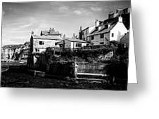 Staithes Village Greeting Card