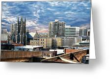 Stamford Cityscape Greeting Card