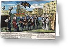 Stamp Act: Repeal, 1766 Greeting Card