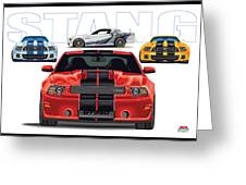 Stang 2 Greeting Card
