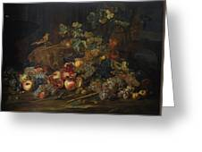 Still Life With Fruit Greeting Card