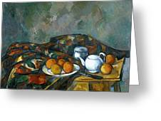 Still Life With Teapot Greeting Card