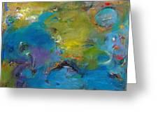 Still Waters Run Deep Greeting Card by Johnathan Harris