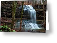 Stillhouse Hollow Falls  Greeting Card