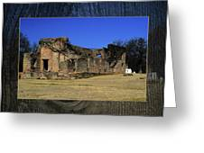 Stone Fort Greeting Card