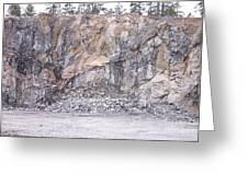 Stone Mine Greeting Card