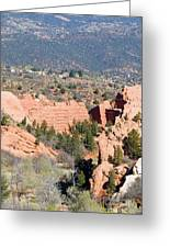 Stone Quarry At Red Rock Canyon Open Space Park Greeting Card