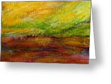 Storm At Sunrise Greeting Card