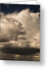 Storm Over Table Rock Greeting Card