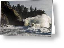 Storm Surf Greeting Card