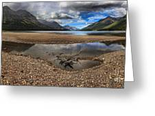 Storms Over Upper Waterton Lake Greeting Card