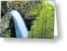Storsaeterfossen Greeting Card