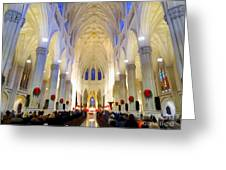 St.patricks Cathedral Restored Greeting Card