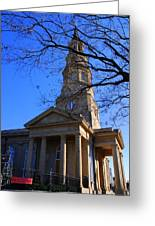 St.philips Episcopal Church In Charleston Sc Greeting Card