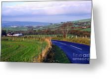 Strabane Plumbridge Road Greeting Card