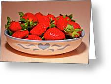 Strawberries Greeting Card