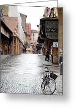 Streets Of Florence Greeting Card