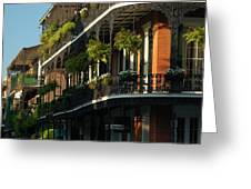 Streets Of New Orleans Greeting Card