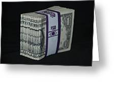 Stripper Stack Greeting Card
