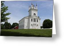 Sudbury Congregational Church  Greeting Card
