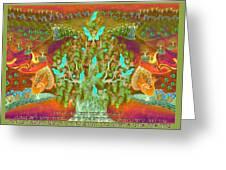 Sukkot- Prayer In The Sukkah Greeting Card