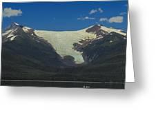 Sumdum  Glacier Greeting Card
