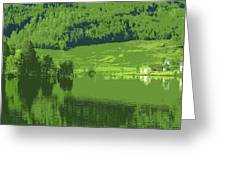 Summer In Norway Greeting Card