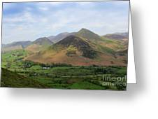 Summer, The Newlands Valley, Lake District National Park Greeting Card