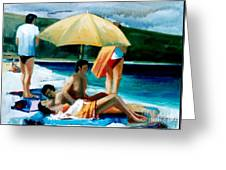 Summer Time Greeting Card