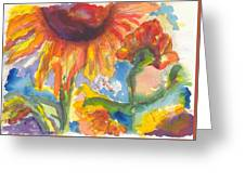 Sunflower I Greeting Card
