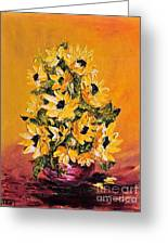 Sunflowers For You Greeting Card