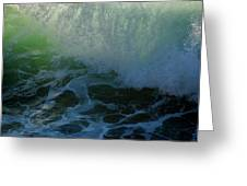Sunlight And Surf Greeting Card
