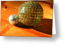 Sunlit Spheres Greeting Card