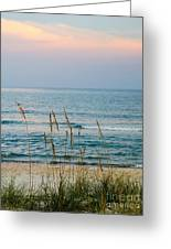 Sunrise And Sand Greeting Card