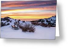 Sunrise At Marginal Way Greeting Card