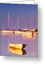 Sunrise At West Bay Osterville Cape Cod Greeting Card