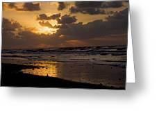 Sunrise Before The Storm Greeting Card