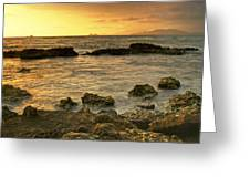 Sunrise Kaneohe Greeting Card