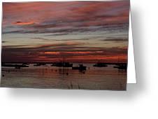 Sunrise Rye Nh Greeting Card