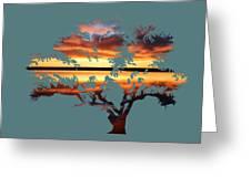 Sunrise Tree Greeting Card