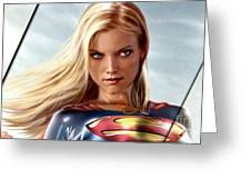 Supergirl Collection Greeting Card