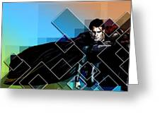 Superhero Greeting Card