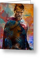Superhero.superman. Greeting Card