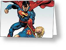 Superman Greeting Card