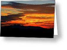 Superstition Sunrise  Greeting Card