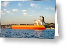 Supertanker Greeting Card