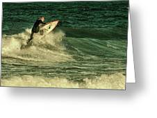 Surfing - Jersey Shore Greeting Card